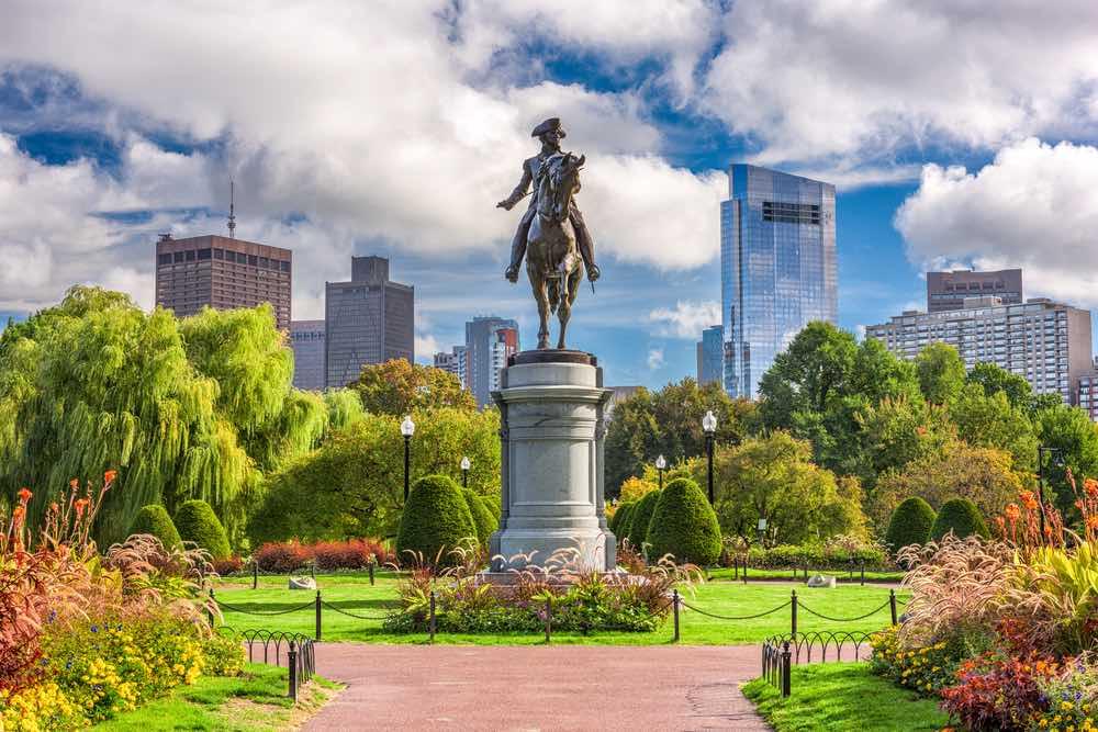 Stadsbeeld van Boston