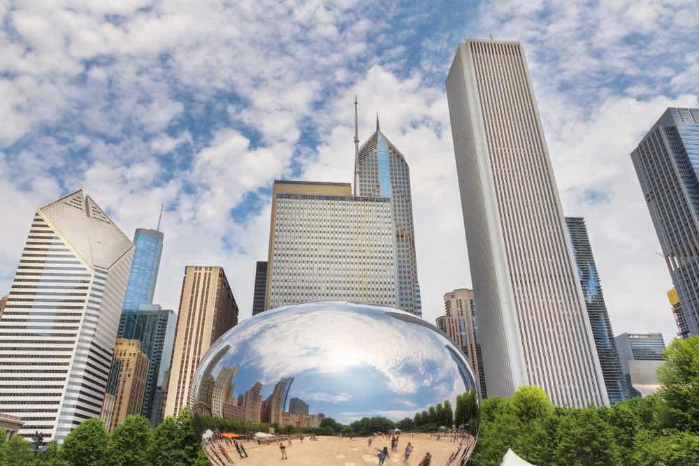 Uitzicht Chicago
