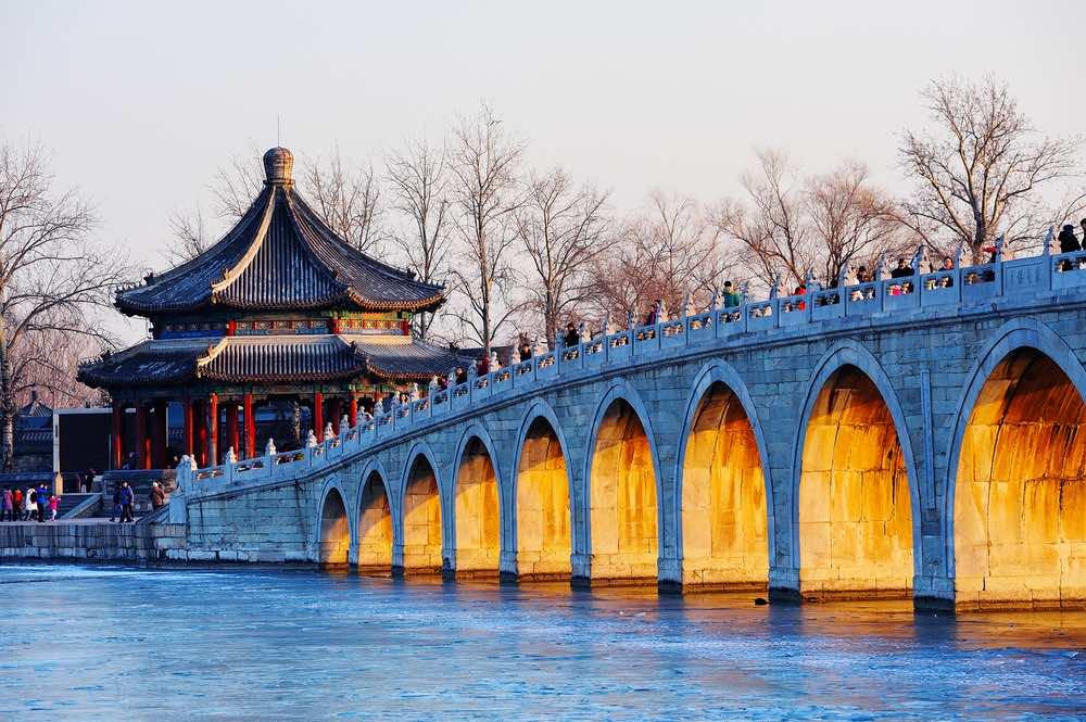 17-arched bridge