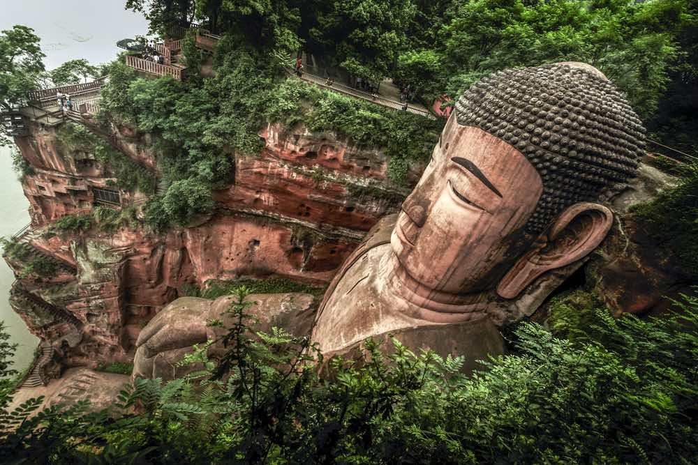 boeddha van leshan