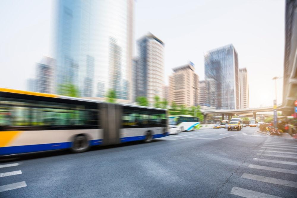 bus in beijing