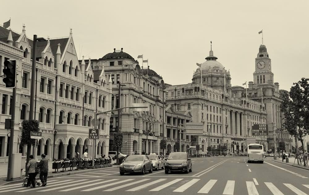 geschiedenis shanghai