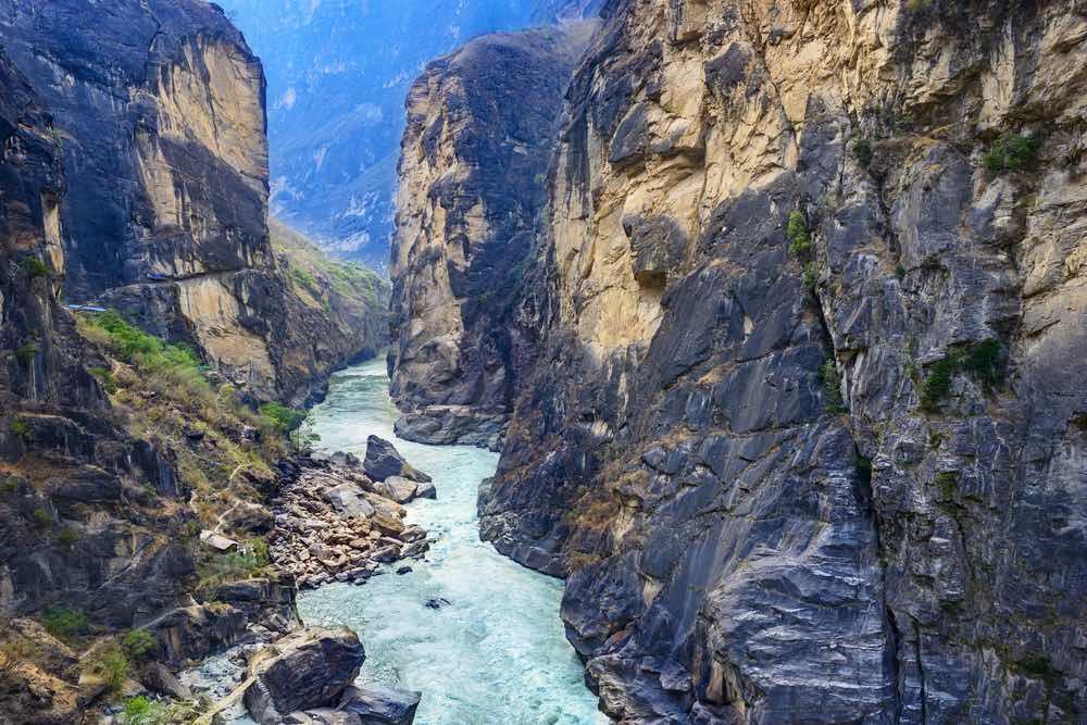 tiger leap gorge