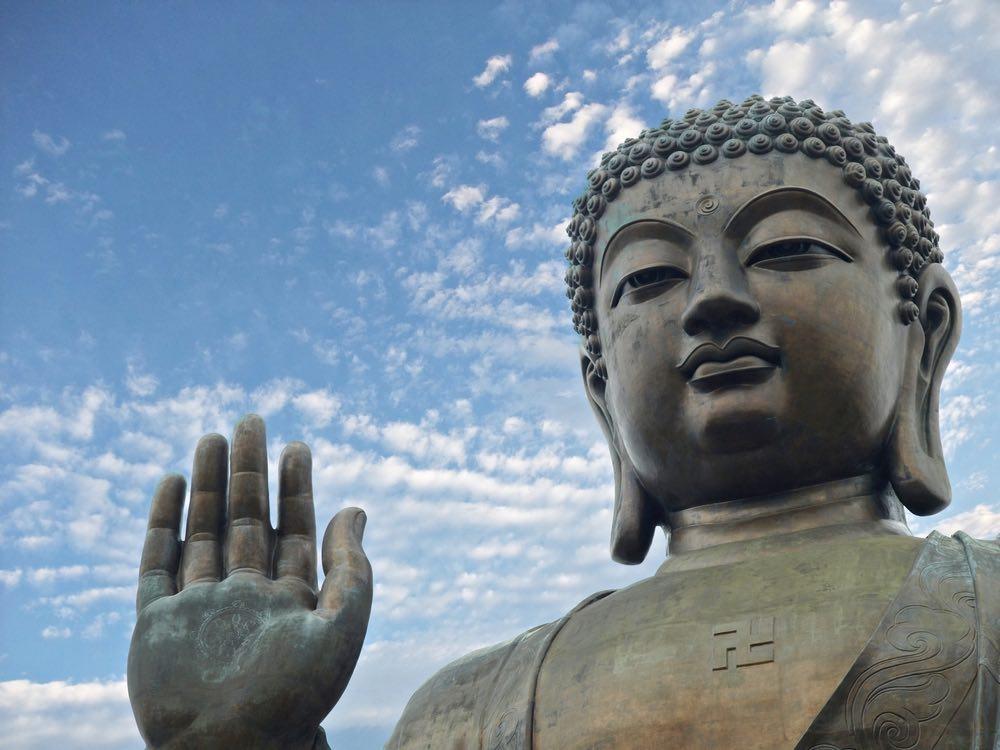 buddha mt huashan