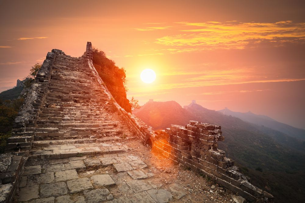 verval chinese muur