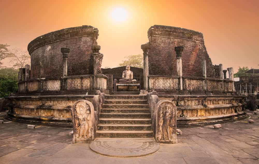 Polonnaruw een van de Koningsteden in Sri Lanka