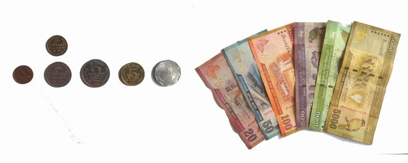 Sri Lanka munteenheid