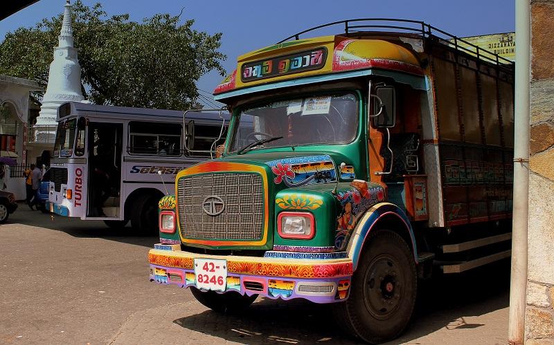 Busreizen Sri Lanka
