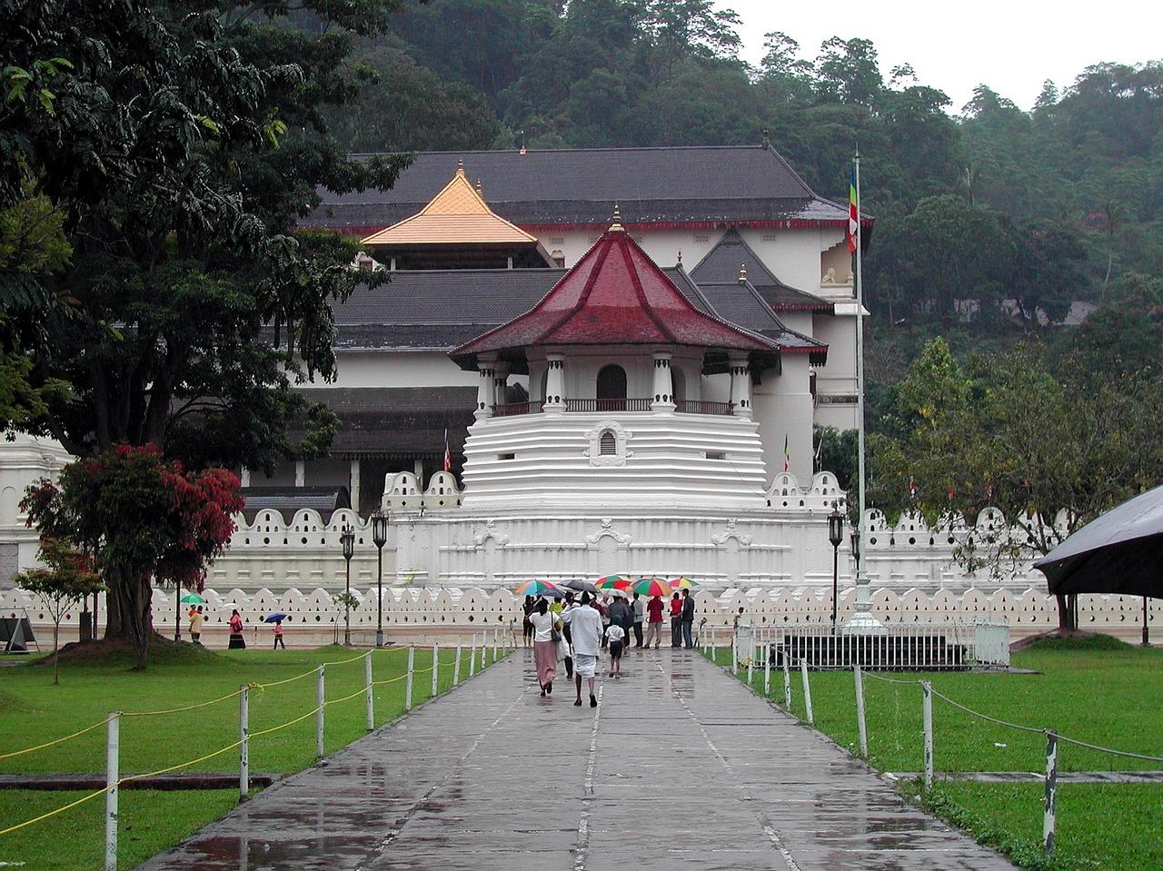 Kandy de tweede stad van Sri Lanka