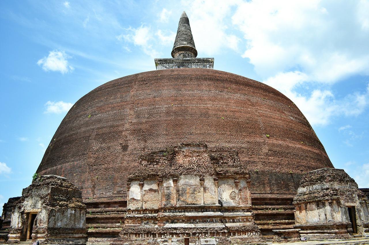 Anuradhapura oude hoofdstad van Sri Lanka